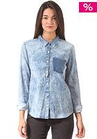 VOLCOM Womens Rolling High L/S Shirt indigo