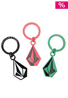 VOLCOM Womens Shiner Skibby Keychain assorted colors