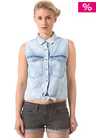 VOLCOM Womens Sick Muse Sleeveless Shirt chambray