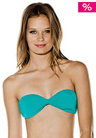 VOLCOM Womens Simply Solid Bandeau Top teal