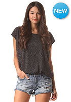VOLCOM Womens Simply Solid Circle S/S T-Shirt black