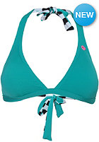 VOLCOM Womens Simply Solid Halter Top teal