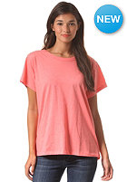 VOLCOM Womens Simply Stoned S/S T-Shirt electric coral