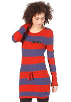 VOLCOM Womens Stealing Beauty Knit Dress blue ribbon