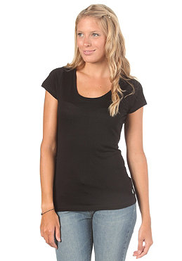 VOLCOM Womens Stone Only S/S T-Shirt black