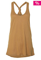 VOLCOM Womens Stone Only Tank Top brown/khaki