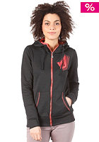 VOLCOM Womens Stone Stade Hooded Zip Sweat black