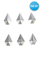 VOLCOM Womens Stone Studs Stomp Pad brushed nickel