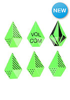 VOLCOM Womens Stone Studs Stomp Pad electric green