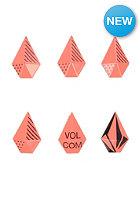 VOLCOM Womens Stone Studs Stomp Pad firecracker