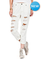 VOLCOM Womens Stoned Slim Slouch Denim Pant vintage white