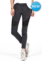 VOLCOM Womens Super Stoned Ankle Jean Denim Pant vintage black