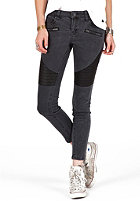 VOLCOM Womens Super Stoned Ankle Jean vintage black