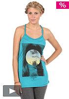 VOLCOM Womens Sweet Memories Tank Top vibrant turquoise
