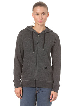 VOLCOM Womens Timesoft Hooded Zip Sweat 2013 black