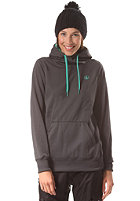 VOLCOM Womens Toller Hooded Fleece Sweat brushed nickel