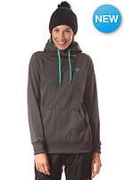 VOLCOM Womens Toller Hooded Fleece Sweat brushed nickel