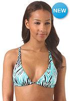 VOLCOM Womens Wild Marks Halter Bikini Top blue drift wash