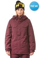 VOLCOM Womens Wing INS Jacket burgundy