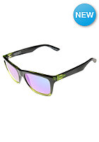 Booker Sunglasses black lime/quasar glo