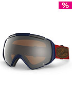 VONZIPPER EL Kabong Charcoal Goggle persimmon chrome