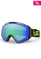 VONZIPPER El Kabong Shrooom Black Goggle quasar chrome