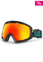 VONZIPPER Feenom Party Animals Black Goggle fire chrome