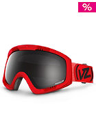 VONZIPPER Feenom Spaceglaze Red Goggle black chrome