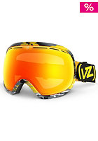 VONZIPPER Fishbowl Gnar Wallan Yellow Goggle lunar chrome