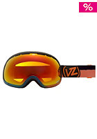 VONZIPPER Fishbowl Huckleberry Blue Orange fire chrome