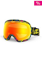 VONZIPPER Fishbowl Shrooom Psycho Goggle fire chrome