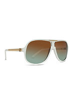 VONZIPPER Hoss Sunglasses white/brown green 