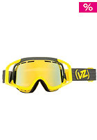 VONZIPPER Porkchop Color Block Yellow gold chrome