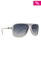 VONZIPPER Stache Sunglasses white sandwich/grey granite