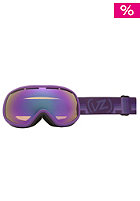 VONZIPPER Womens Chakra Vurple Satin bronze pink chrome