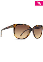 VONZIPPER Womens Spazz Sunglasses brown gold