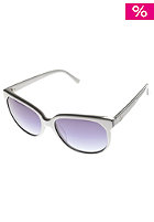 VONZIPPER Womens Spazz White Sunglasses grey blue