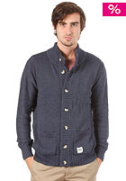 WEMOTO Balam Cardigan blue melange