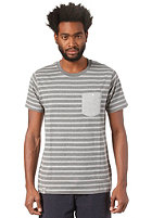 WEMOTO Blake S/S T-Shirt dark heather / heather bs