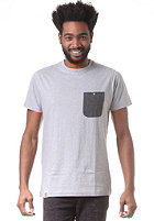 WEMOTO Blake S/S T-Shirt heather grey