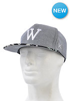 WEMOTO Classic W Snapback Cap dark heather