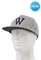 WEMOTO Classic W Snapback Cap heather grey