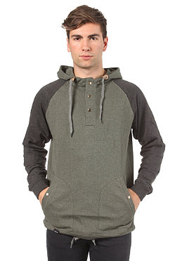 WEMOTO French Hooded Sweat olive melange