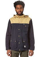 WEMOTO Gus Jacket hemp / navyblue