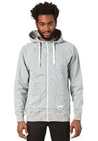 WEMOTO Paul Hooded Zip Sweat pine melange