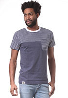 WEMOTO Shorty S/S T-Shirt blue/white ms