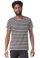 WEMOTO Sidney S/S T-Shirt black/whisper white