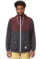 WEMOTO Stinson Jacket burgundy / navyblue