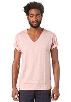 WEMOTO Vernon S/S T-Shirt burlwood melange