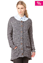 WEMOTO Womens Ann Knit Jacket grey melange